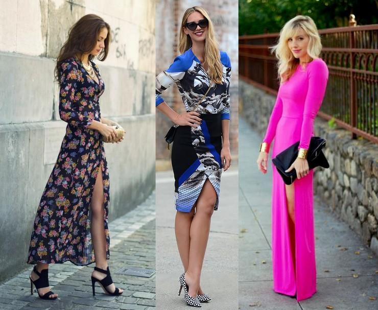 vestidos com fenda