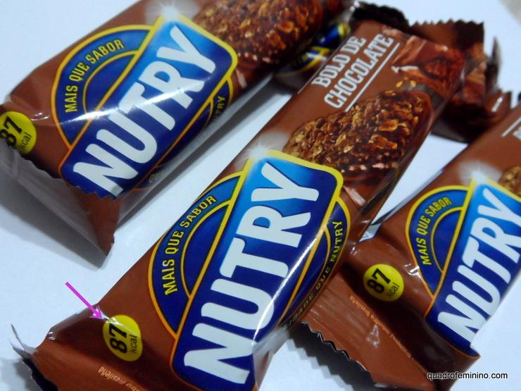 Barra de Cereal Nutry Bolo de Chocolate