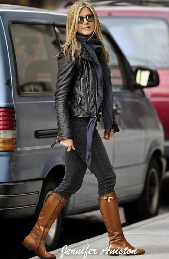 Looks para o inverno - Jennifer Aniston