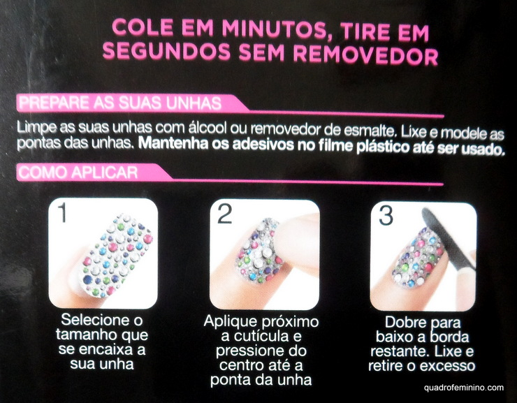 Como aplicar Adesivos - Nail Dress Firts Kiss