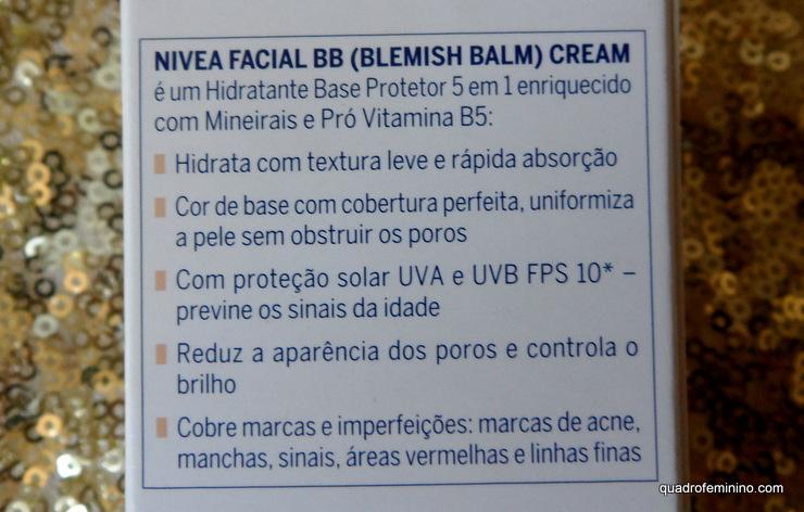BB Cream 5 em 1 - Nivea