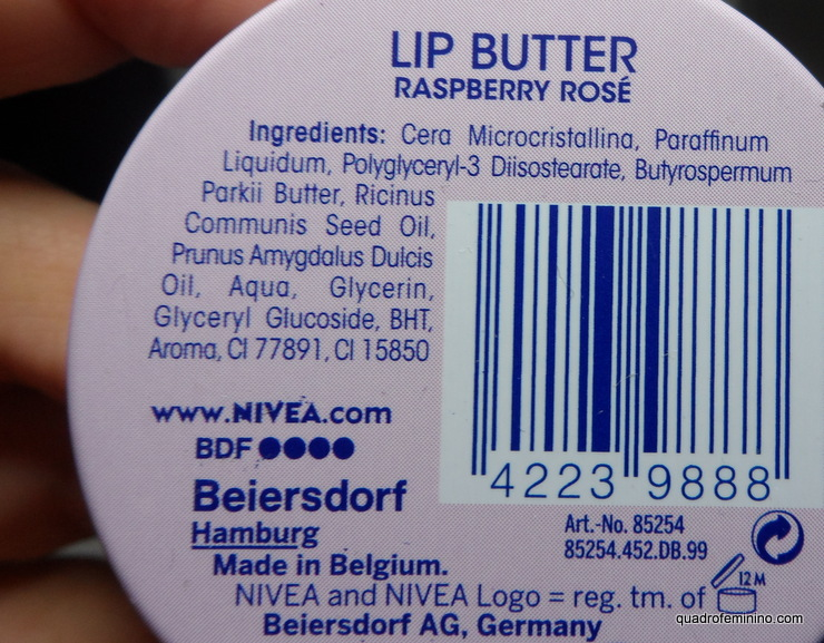 Nivea Lip Butter Framboesa Rose (2)