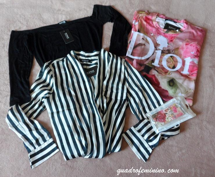 Romwe blusas