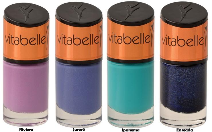 Esmaltes Vitabelle - Coleção Praias (2)