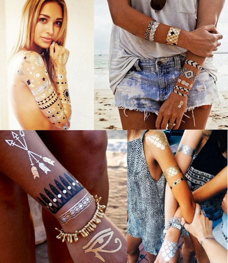 Flash tattoos ou flash tats (3)