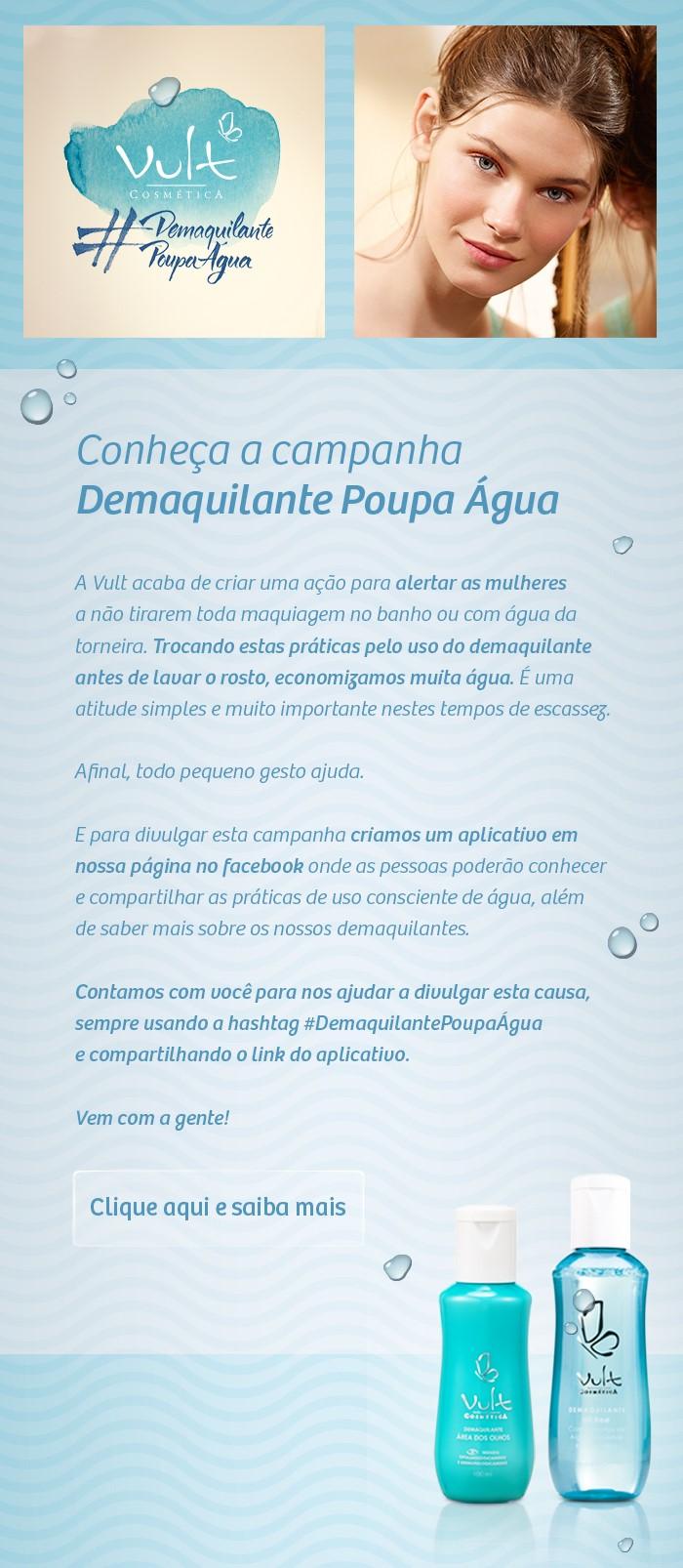Vult - Demaquilante Poupa Água