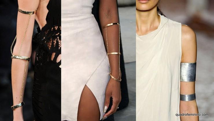Arm Chain, Arm Cuff - acessórios