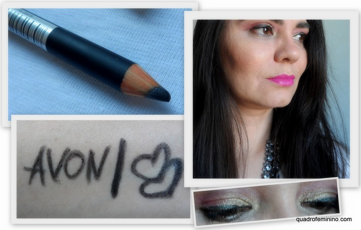 Lápis delineador para olhos Avon Color Trend