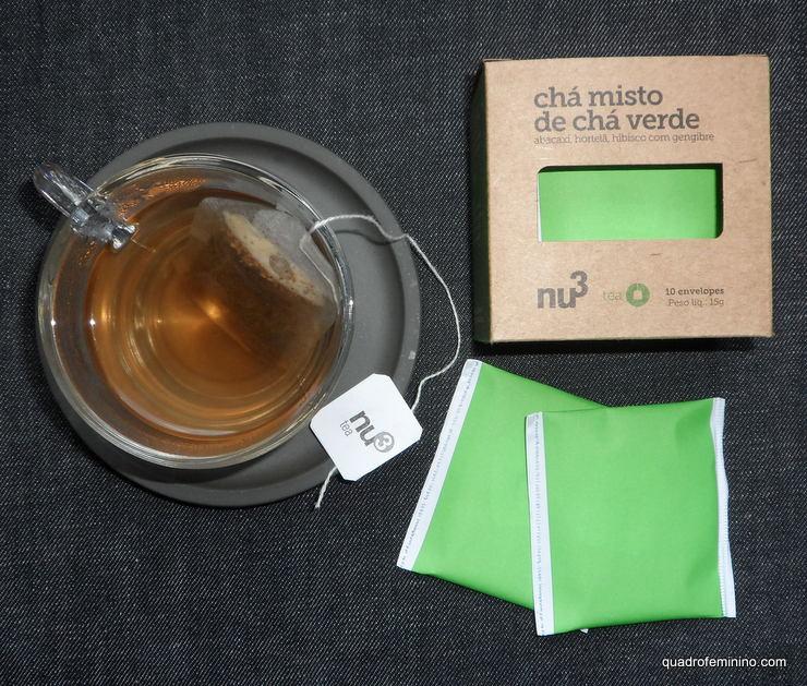 Chá misto Nu3 - chá verde, abacaxi, hortelã, hibisco e gengibre (2)