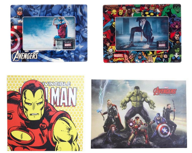Porta-Retrato,  Quadros Super Heróis Marvel