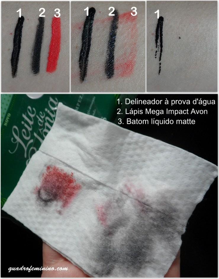 lenços umedecidos de limpeza - Leite de Colônia