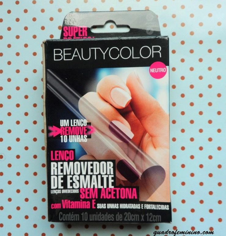 Lenço Removedor de Esmalte - Beauty Color