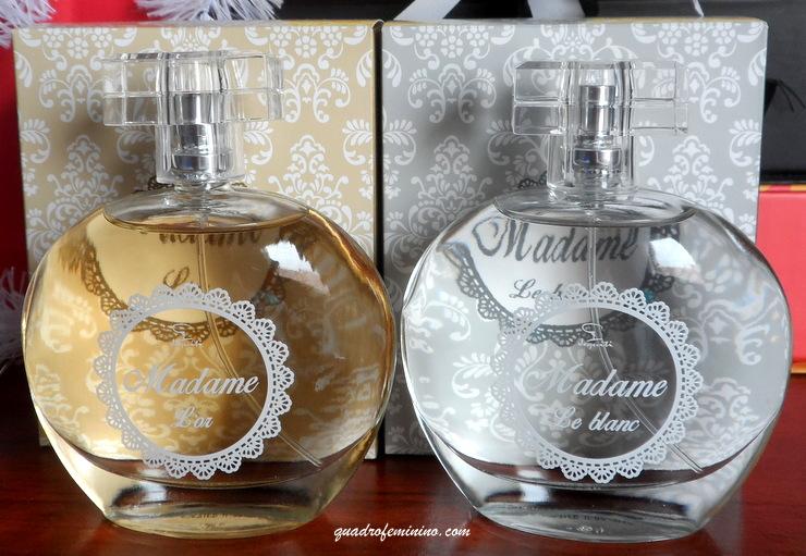 Perfumes Jequiti - Madame Le Blanc e Madame L'or