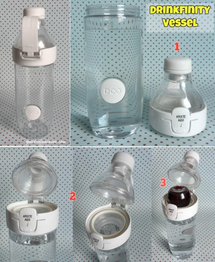Drinkfinity - como usar o Vessel