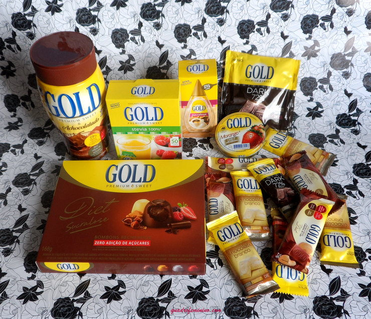 Kit Gold Premium Sweet
