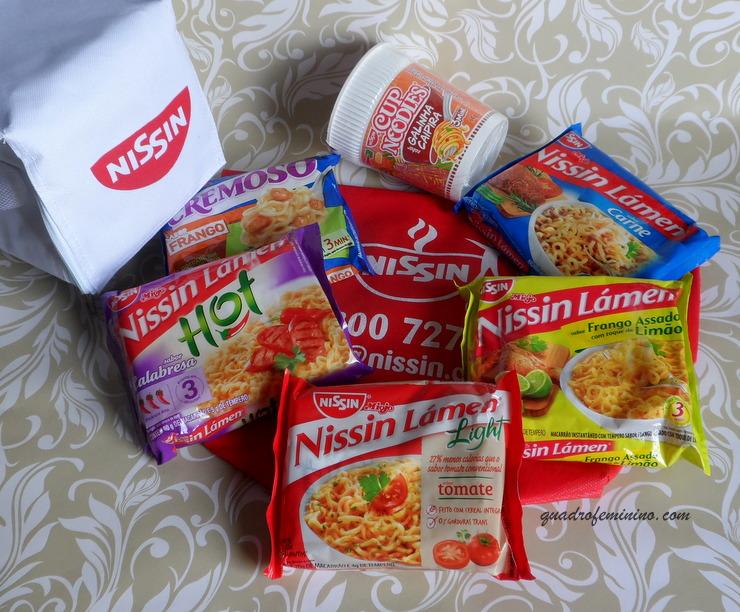 Nissin Lámen e Cup Noodles