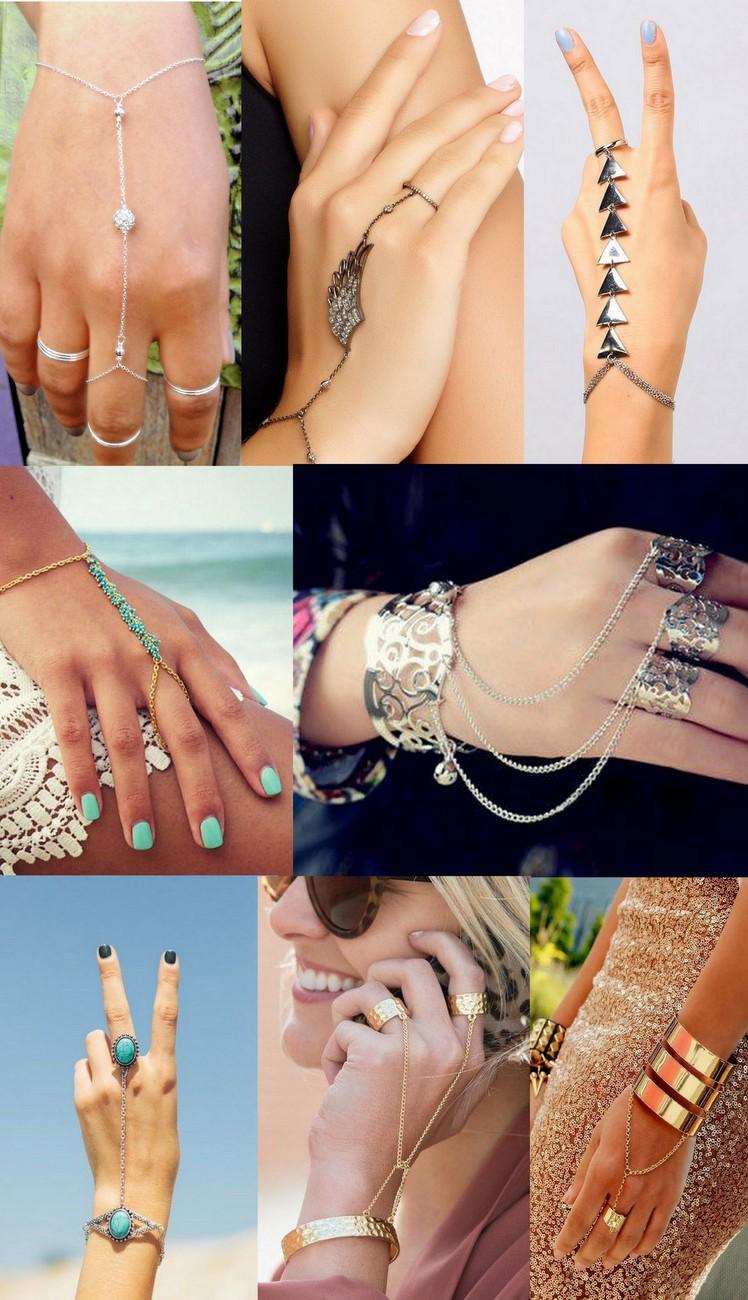 hand chain - anel de mão