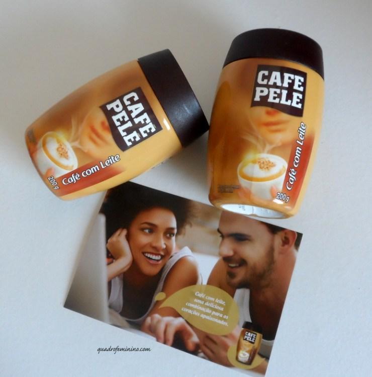 Café com leite Café Pelé