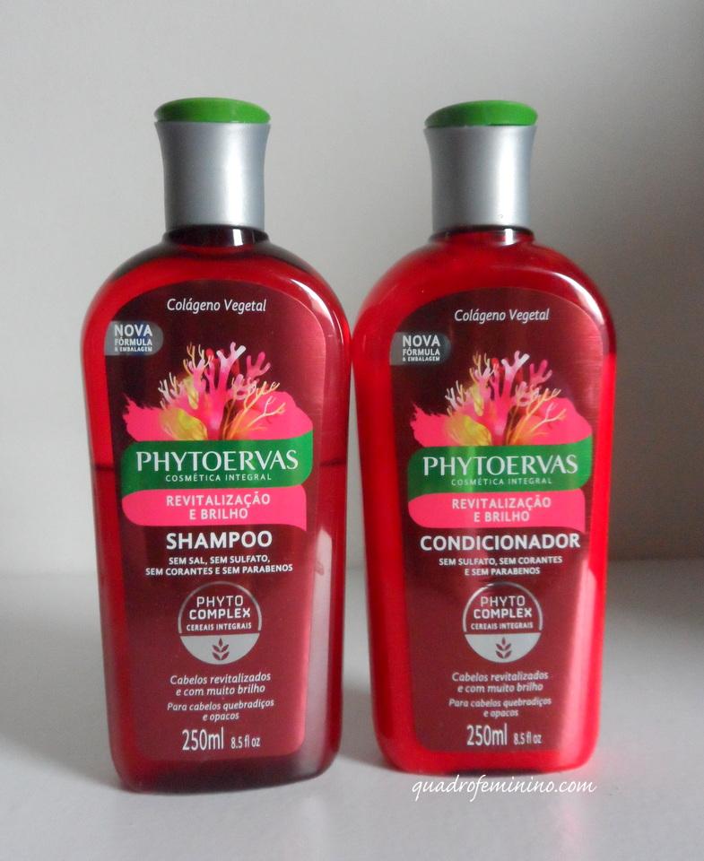 Phytoervas Revitalização e Brilho - Shampoo e Condicionador