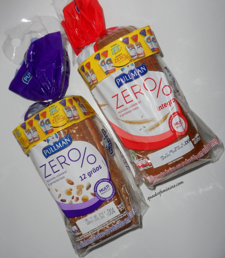 Pullman Zero - Pão Zero 12 Grãos e Zero Integral