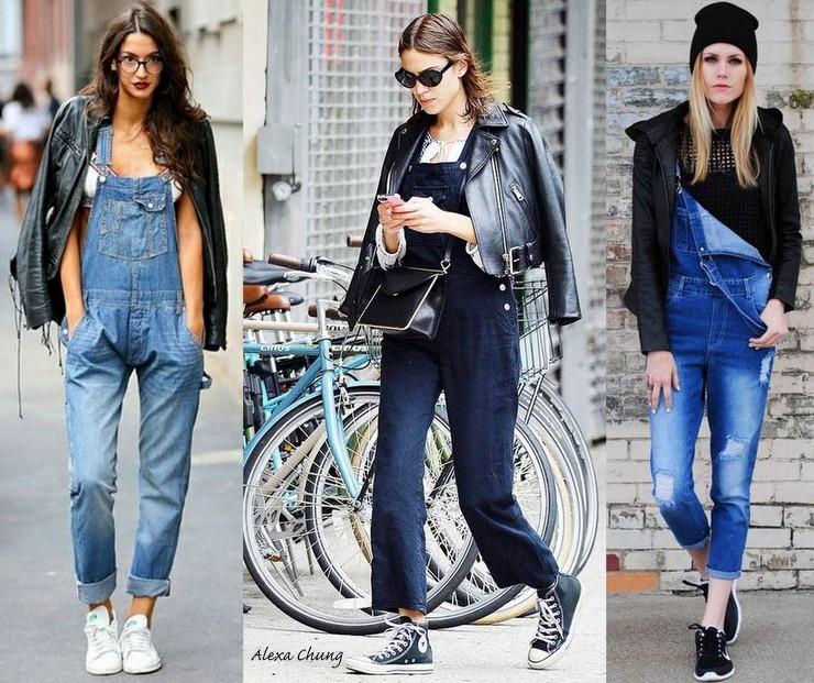 macacão jeans - Look - inverno