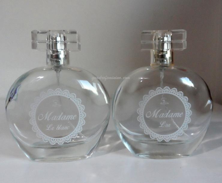 Perfumes Jequiti - Madame Lor e Le Blanc