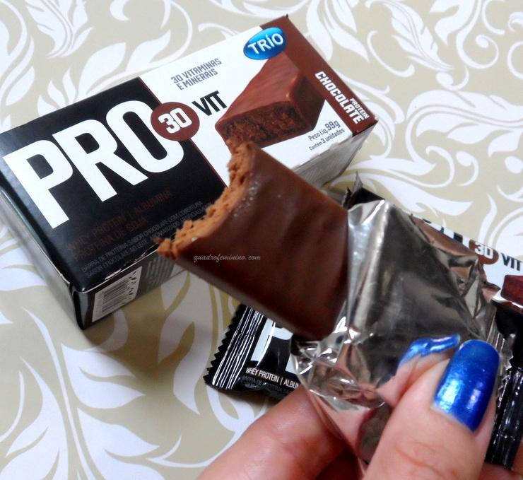 Barra de Proteína Pro 30 Vit Trio- Chocolate