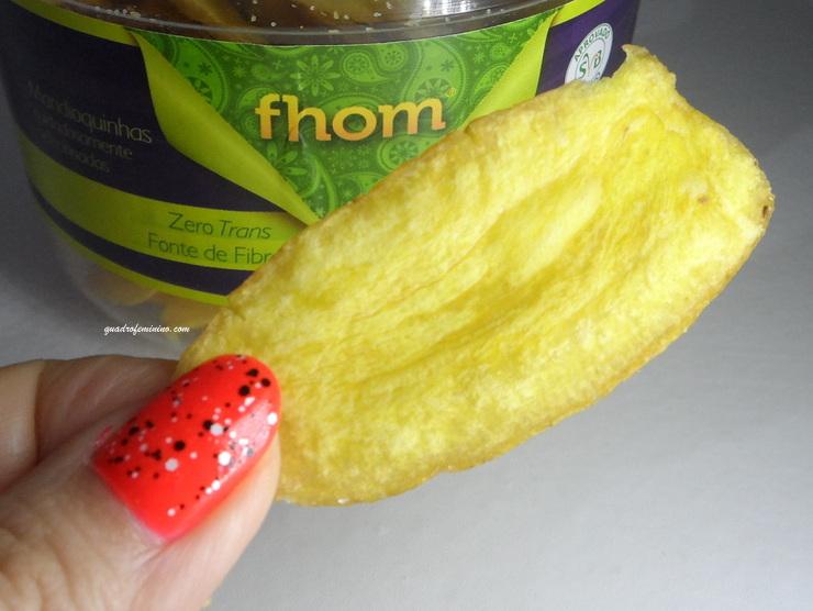Fhom - Chips de Mandioquinha - Kitanda