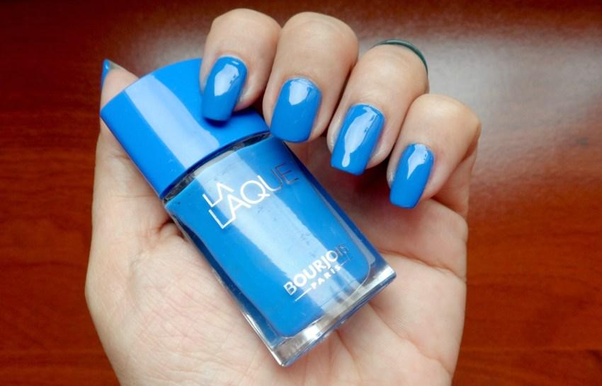 esmalte azul Bourjois