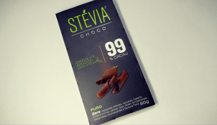 chocolate com stevia
