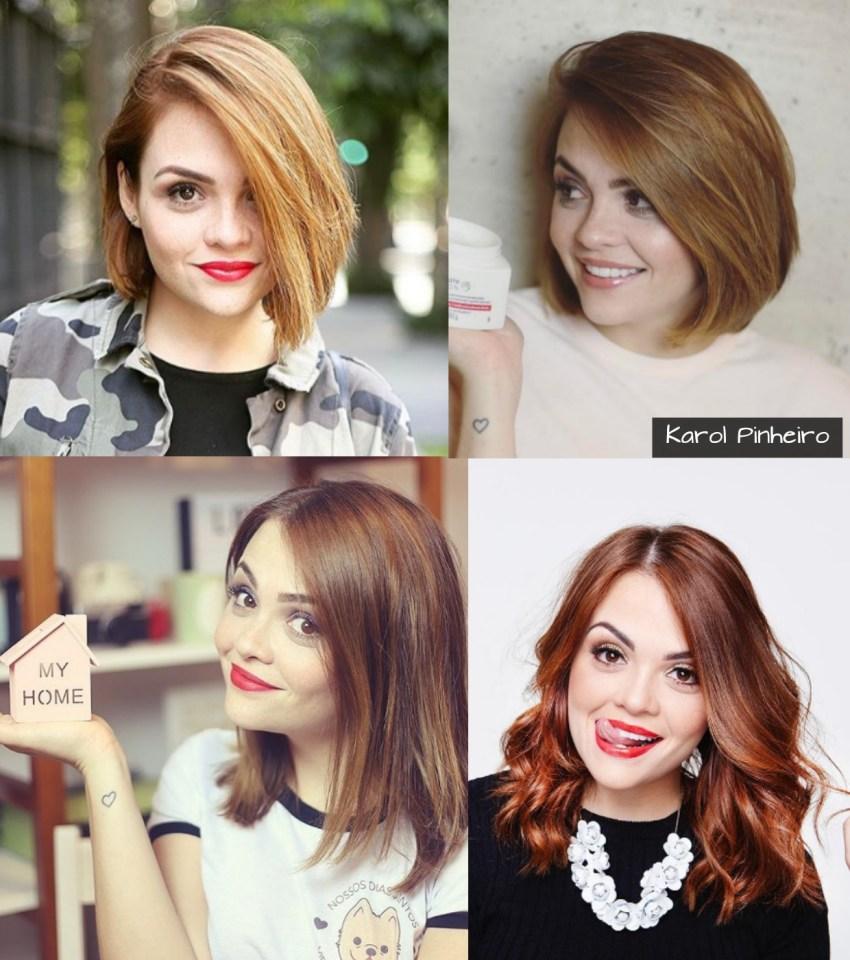cabelos das blogueiras