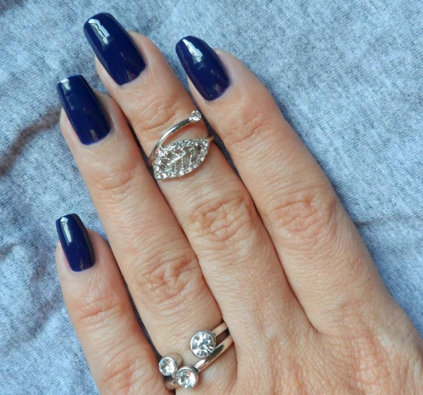 Esmalte Azul Estrelado Risqué