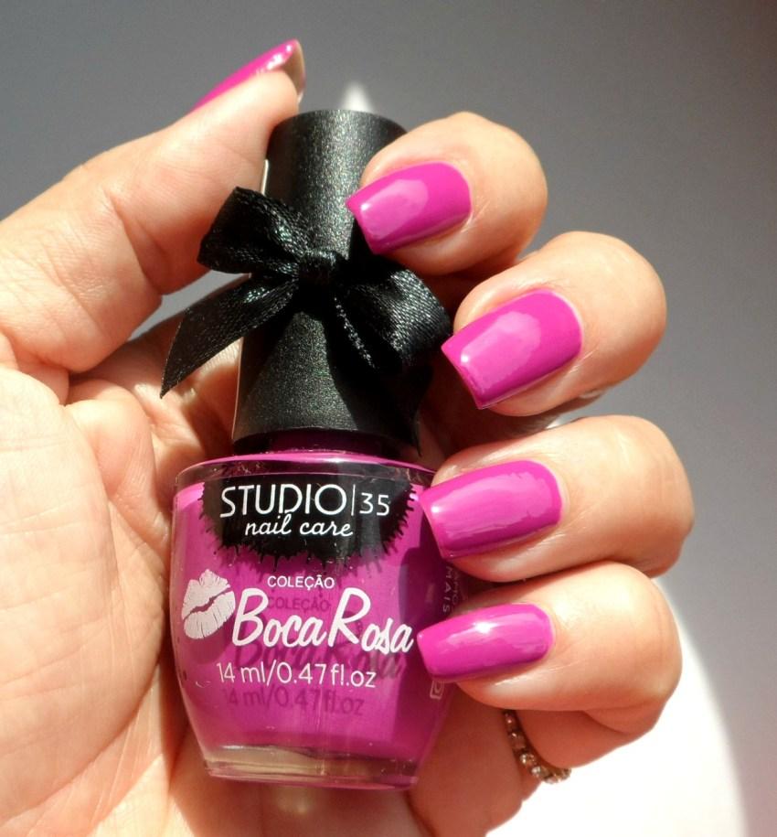 Esmalte Boca Rosa Studio 35