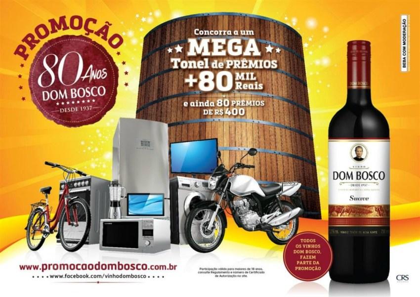 Vinho Dom Bosco - Promoção