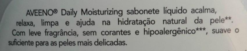 Sabonete Líquido Aveeno Lavanda