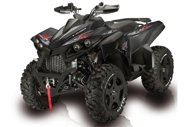 Vielseitig: In der ATV-Szene ist KSR als Importeur bekannt, etwa für Explorer.