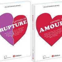 Lettres de Rupture / d'Amour ; Collectif Le Robert