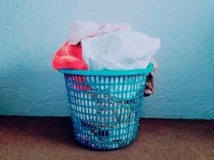 洗濯物の山