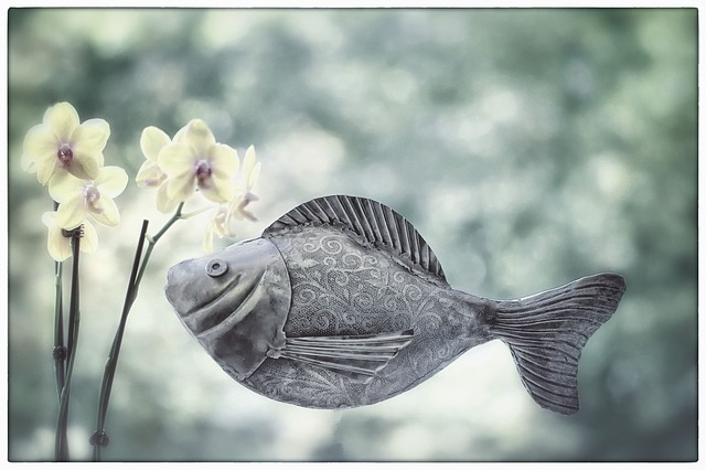 【ラッキーモチーフ】魚モチーフは心の交流を促し共感力を高めてくれる幸運の象徴♪