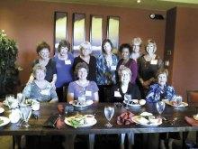 Front row: Kay Robinson, Berniece James, Polly Essinger, Becky Gray; back row: Ruth McDermott, JoAnne Spencer, Lillian Ann Klepp, Linda Bradley, Barbara Oxner, Sue Baird and Pam McFall