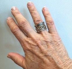 Barb Shelor's Spinner Ring