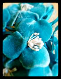 Turquoise Flower Detail