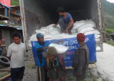 Flour distribution