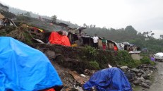Babare, relief collection point for five VDCs in Dolakha