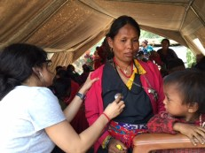 Most women in the camp suffered from multiple ailments and a number of children were malnourished