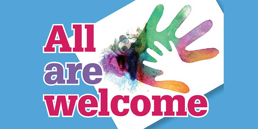 All Are Welcome feature