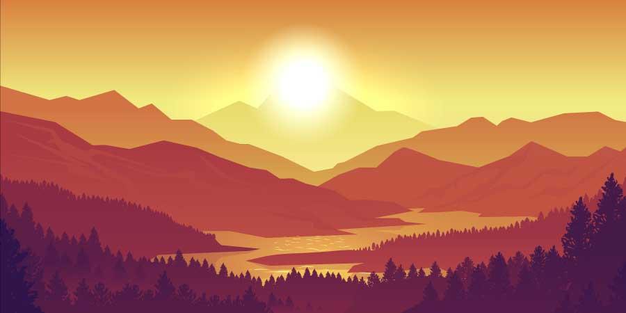 Mountain Sun Coming of Age