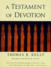 A Testament of Devotion Book