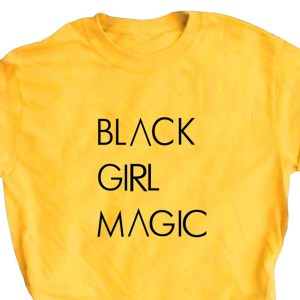 Black girl magic t-shirt qualah