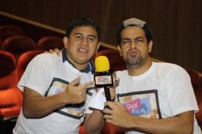 Gilliard e Vinicius no Teatro do Via Sul